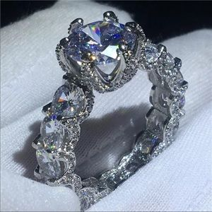 NEW Super Bling 925 SS CZ Wedding/Engagement Ring